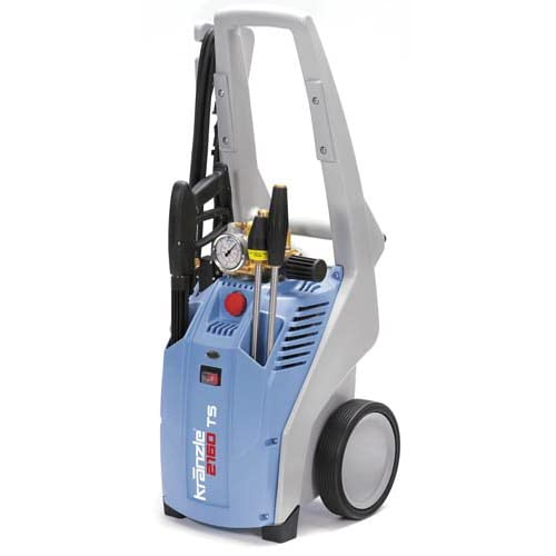 Image of KranzleUSA K2020  Cold Water Electric Industrial Pressure Washer with 33' Wire Braided Hose, 2000 PSI, 1.9 GPM