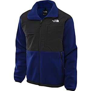 The North Face Men's M Denali Jacket Bolt Blue/Asphalt Grey XXL by The North Face