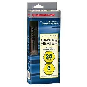 Marineland Visi-Therm Aquarium Heater, 25-Watt