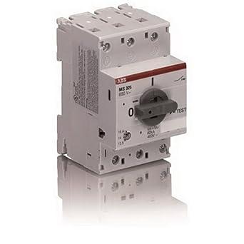Abb ms325 25 on off manual motor starter 690 volt ac 440 for Abb motor starter selection tool