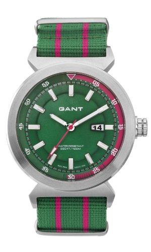 Gant Watches - Reloj analógico de cuarzo para hombre con correa de tela, color multicolor