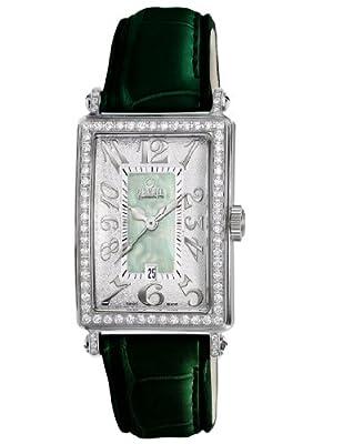 Gevril Women's 7246NL Mini Quartz Avenue of Americas Green Diamond Watch from Gevril