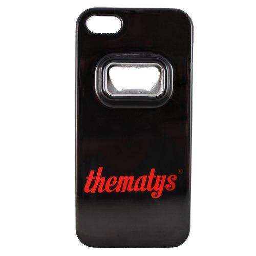 Apple iPhone 5 5S Original thematys® FLASCHENÖFFNER Bier Design Case Schutz-Hülle Cover Schale Etui handyhülle thematys®