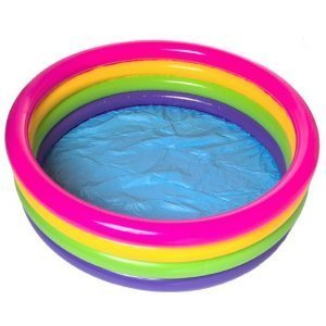 Large Sunset Glow Inflatable Pool 66