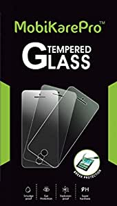MobiKarePro Tempered Glass Scratch Guard Screen Protector Shield for Samsung Z1 - Tizen