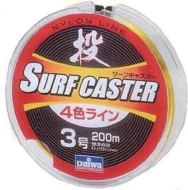 ダイワ サーフキャスター4色ラインR 200mの商品画像