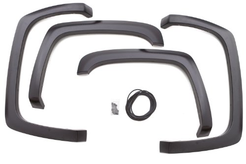 Lund Sx103T Elite Series Black Sport Style Textured Front And Rear Fender Flare - 4 Piece front-853977