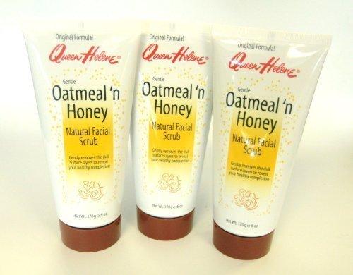 queen-helene-natural-facial-scrub-oatmeal-n-honey-set-of-3