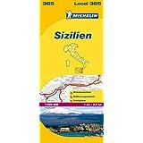 Sizilien (Michelin Localkarte)