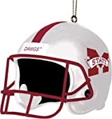 3 Helmet Ornament-Mississippi St