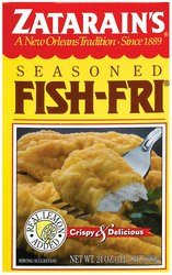 Zatarains seafood breading mix fish fri for Zatarain s fish fri