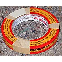 3M Scotch Masking Tape for General Painting, .75-Inch by 60-Yard, 1-Pack