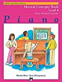 Alfred's Basic Piano Course: Musical Concepts Book 4