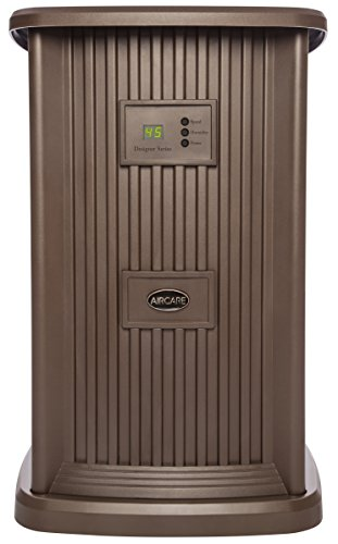 AIRCARE EP9 500  Digital Whole-House Pedestal-Style Evaporative Humidifier, Nutmeg - 1