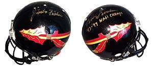Jimbo Fisher & Bobby Bowden Signed Autographed Florida State Seminoles Full Size...