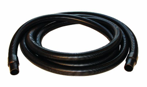 Nortech N86110 Static Conductive Standard-Duty PVC Vacuum Hose with Cuffs, 1.25-Inch by 10-Foot