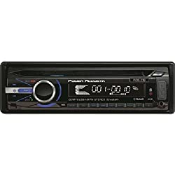 See POWER ACOUSTIK PCD_41B Single_DIN In-Dash CD Receiver with Detachable Face & 32GB USB Playback (With Bluetooth(R)) Details