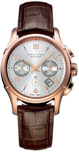 Hamilton Jazzmaster Auto Chrono Rose reloj de oro H32646555