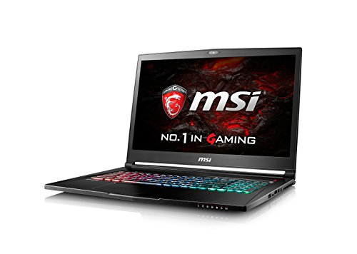 Msi 173 gs73 vr 120hz full hd gtx 1060 gaming laptop