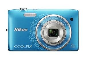 Nikon デジタルカメラ COOLPIX (クールピクス) S3500DBL オリエンタルブルー