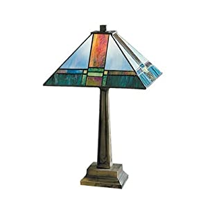 dale tiffany tranquility mission table lamp sale. Black Bedroom Furniture Sets. Home Design Ideas