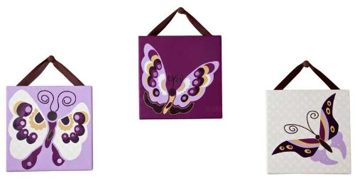 Jasmina Canvas Art - Set of 3 - 1