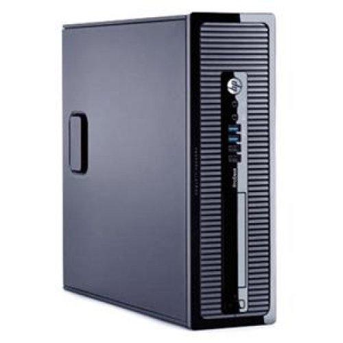 HEWLETT-PACKARD Desktop Computer - Intel Core i3 i3-4130 3.40 GHz 4 GB RAM - 500 GB HDD - DVD-Writer - Intel HD 4400 Graphics - Windows 8.1 Pro 64-bit / E3U27UT#ABA /