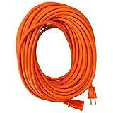Master Electrician 02209ME 100-Feet Round Vinyl Extension Cord, Orange