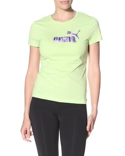 PUMA Women's Large Logo Tee