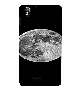 PrintVisa Moon Design 3D Hard Polycarbonate Designer Back Case Cover for LAVA IRISX800 :: LAVA-IRIS-800