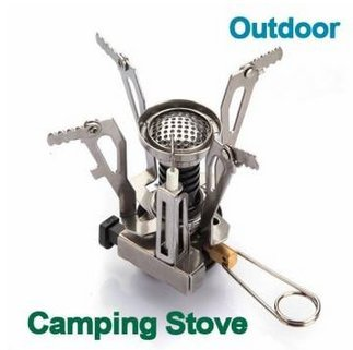 "Best 3"" Portable Mini Gas Stove / Ultralight Lightweight Gadgets Products Goods Compact Grilling Cook Fire Handheld Uniqeu Shop Store Items Appliances Single Stuff Friend'S Birthday Gift Professional Small Little Camp Cooker Grill Kitchen Burner Oven Back"