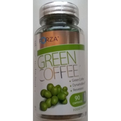 Forza Green Coffee 2:2:1 Food Supplement - 90 Tablets
