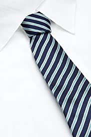 Blue Harbour Pure Silk Striped Tie