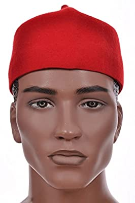 Dupsie's Red African Igbo Ozo Hat
