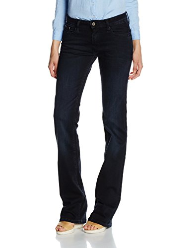 TOMMY HILFIGER Mid Rise Boot Sandy Bbst, Pantalones Para Mujer, Azul (Blue...