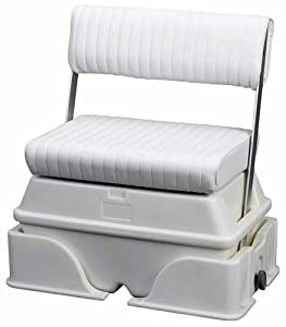 Moeller Deluxe Removeable Swing Back Cooler or Livewell Boat Seat (50-Quart, 32 x... by Moeller Marine