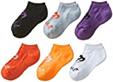 ASICS Womens Invasion No Show Sock (6 Pack)