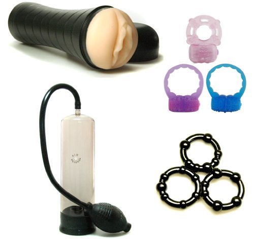 Fleshy Light Male Masturbator Adult Sex Toy Kit