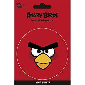 angry birds sticker red bird spielzeug. Black Bedroom Furniture Sets. Home Design Ideas