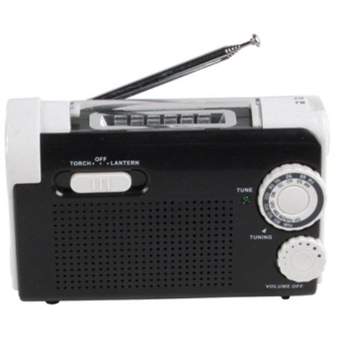 HQ Dynamo Radio mit Taschenlampe