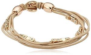 Fossil Jewelry Damen-Armband Fashion Vintage Leather JA5799791