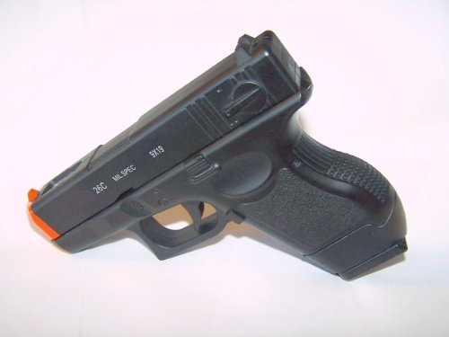 New Airsoft Full Metal Spring Pistol with Metal Clip Full Scale 1/1