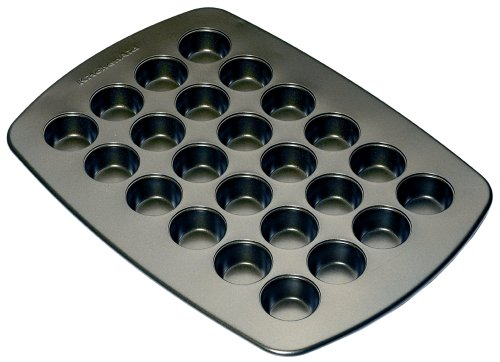 KitchenAid 24-Cup Mini Muffin Pan - Buy KitchenAid 24-Cup Mini Muffin Pan - Purchase KitchenAid 24-Cup Mini Muffin Pan (Lifetime Brands, Home & Garden, Categories, Kitchen & Dining, Cookware & Baking, Baking, Muffin & Popover Pans)