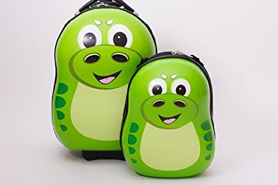 P-Rex the Dinosaur Cutie trolley case and back pack by Picture Case