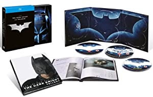 Batman - La trilogie - Batman begins, The Dark Knight - The Dark Knight Rises - 5 Blu-ray + 1 livret