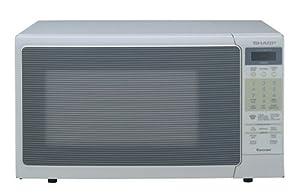 Sharp R-320HQ 1200-Watt 1.2 Cubic-Foot Microwave, Bisque