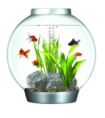 Reef One BiOrb 60 Aquarium with Halogen Light Silver 60ltr 8000g