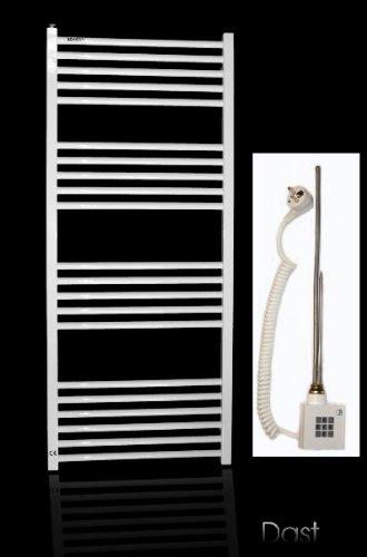 Elektrobadheizkrper-wei-gerade-1074h-x-600b-Handtuchhalter-Handtuchheizung-elektro-elektrisch