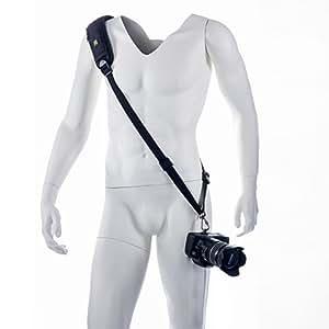 Blackrapid R-Strap RS-4 Classic Kameragurt (Tragegurt, Schultergurt, Trageriemen) für DLSRs & Systemkameras - Ballistisches Nylon