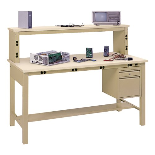 Electronic Technician Work Benches : Workbenches edsal complete electronic tech bench w anti